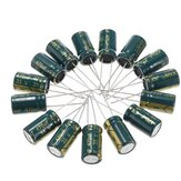 250Pcs 35V 470UF 10 x16MM High Frequency Low ESR Radial Electrolytic Capacitor