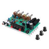 DX0809 Stereo versterker Board Dual Channel Karaoke met microfoon Jack Audio gemodificeerd moederbord