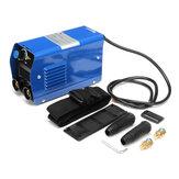 ZX7-200 220V 200A Saldatrice elettrica portatile IGBT Inverter MMA con elettrodo isolato
