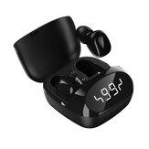 XG29 TWS Bluetooth inalámbrico 5.0 Auricular Reloj LED Pantalla Stereo Impermeable Auriculares deportivos con micrófono HD Llamar