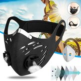 Anti-smog Cycling Mask Windproof, Dustproof and Warm Mask Activated Carbon Anti-haze Out Riding Mask