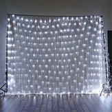 1.5x1.5m IP65 LED Curtain Fairy Holiday String Light Christmas Lights Party Wedding Decor EU Plug AC220V Christmas Decorations Clearance Christmas Lights