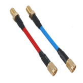 Aomway CBA004 80mm FPV Antenna Extension Cord Wire Prolonging Adaptor SMA /RP-SMA Male to SMA Female
