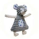 絶妙なかわいいタキシード動物のウサギの象のおもちゃのペットの犬のぬいぐるみペットのおもちゃ