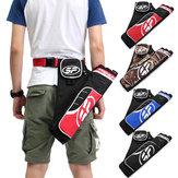 3-TubePfeilhalterArcheryBowKöcherVerstellbare Taille Gurtband Tasche