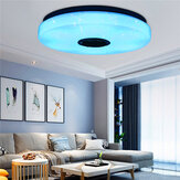 80W Modern Dimmable LED RGB Bluetooth Music Ceiling Light APP Remote Control