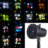 12 Patterns 4 LED Projector Light Stage Light  Motion Rotating Holiday Light Christmas Halloween