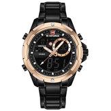 NAVIFORCE 9120 Luminous Calendar Dual Display Digital Watch