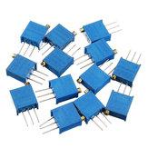 100R-1M 65pcs 13 Valori 3296 Pacchetto registrabile di resistenza registrabile del pacchetto del potenziometro 5pcs ogni valore