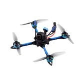 BETAFPV X-Knight 4160mm F4 AIO 20A ESC 4S Drone de course FPV cure-dents 4 pouces PNP BNF avec 25 / 200mW VTX Caméra Caddx Ratel 1200TVL FPV
