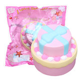 Bow-knot Double Cake Squishy 9CM Jumbo z opakowaniem Collection Gift