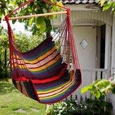 ガーデンパティオハンギングデッキハンモックチェア室内用屋外コットンスイングクッションシート