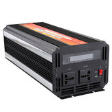 6000W Peak LCD Solar Power Inverter DC 12V/24V to AC 110V/220V Modified Sine Wave