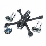iFlight XL5 V4 227mm Frame+iFlight SucceX-E F4 & 45A 4 In 1 Brushless ESC Stack+4PCS Racerstar SIC 2207 2688KV Motor