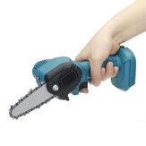 550W 24V 4 `` Mini scie à chaîne électrique sans fil à une main coupe-bois pour Makita 24V Batterie
