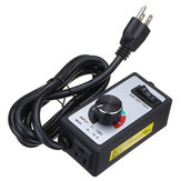 120V 15Amps Electric Motor AC/ DC Variable Speed Controller Brush For Router Fan