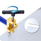 Utensile professionale monoblocco in lega di alluminio per taglio di piastrelle in vetro scorrevole