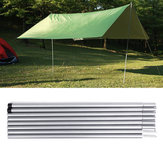 8 Pcs Tente Pole Camping Ajustable Auvent Tige Universelle Tente Tiges Tente Supportant Tente Accessoires