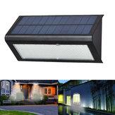 6W 48 LED Solar Powered 4 Modları 1000LM Radar Sensör Wall Street Işık Su Geçirmez IP65 Outdoor Yard