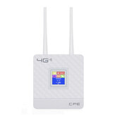 4G LTE CPE Router Wireless WiFi Repeater 150Mbps Hotspot SIM Card LAN Modem with 2 Antennas Support for 20 Users
