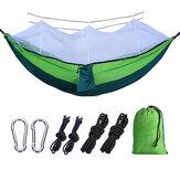 IPRee® 260 * 140CM Cibinlikli Taşınabilir Seyahat Hamak Rahat Hommock Kampçılık Yatak 2 Kişiye Uygun