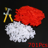 500Pcs Klip + 200Pcs Wedges Tile Leveling System Spacer + Tang