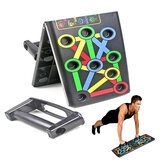 14 In 1 faltbaren Push-Up-Standbrett Home Gym Push-Up-Brustmuskeltraining Fitnessgeräte