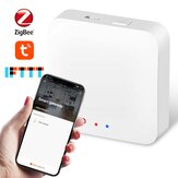 Tuya ZigBee3.0 Bridge Wireless Smart Home Mini Gateway Hub APP Controle Remoto Compatível com Alexa Google Home