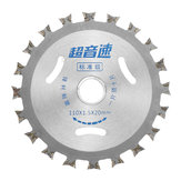 Effetool 4 Inch 40 Teeth Double-sided Saw Blade Alloy Woodworking Saw Blade