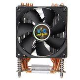 CPUクーラー3pin / 4pin 6ヒートパイプヒートシンクファンクーリングクワイエットファンクーラーfor LGA 1150/1151/1155/1156/1366/2011/X79/X99/299