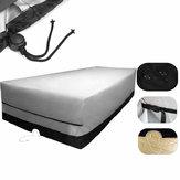 IPRee® 270x180x90cm 600D Oxford 6-osobowa pokrywa meblowa Zewnętrzna ochrona przed pyłem UV