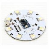 コントローラー付きLEDライトコントロールモジュール5Vbluetooth 4.0BLE AndroidIOS携帯電話APPインテリジェントコントロールRGBW