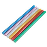 10 Stks 11mm x 200mm Colorful Glitter Hotmelt Lijmstift Kleurstof DIY Ambachten Reparatie Model Zelfklevende Sticks