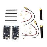 2 Stück LILYGO® TTGO ESP32 SX1276 LoRa 868 MHz Bluetooth WI-FI Lora Internet Antenna Development Board