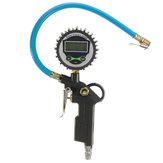 Araba Araç Dijital Hava Lastik Basıncı Monitör Kamyon LCD Şişirme Ölçer Dial Metre Cihazı