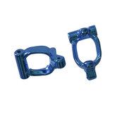 2PCS XLF F16 F17 F18 1/14 RC Car Spare Metal Front Universal C Seat Vehicles Model Parts