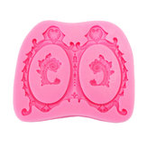 Food Grade Silicone Cake Mould DIY Chocalate Cookies Ice Tray Baking Tool Speciale schildpad vorm