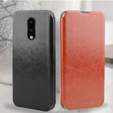 Mofi Classic Shockproof Flip With Stand PU Leather Full Cover Protective Case for OnePlus 7