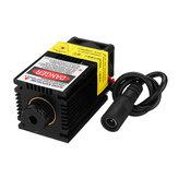 EleksMakerकेलिएDIYलेजरएनग्रावर मशीन के लिए हीट सिंक के साथ LA03-2500 445 एनएम 2500 एमडब्ल्यू ब्लू लेजर मॉड्यूल
