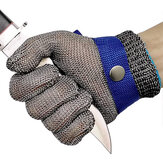 Cut-proof Resistant Gloves Stainless Steel Wire Mesh Gloves for Carpentry Butcher Tailor Operation Gloves Anti Cutting