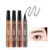 4 Colors Four-bifurcated Liquid Eyebrow Pen Waterproof