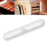 Battery Powered Wireless 20 LED Human Infrared Induction Magnetic Cabinet Light for Closet Stair