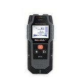 MAKA® MK08 Detectores de metais Localizador de madeira com arame profissional Metais não ferrosos com luz de fundo Detecção de metais pretos