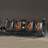 Geekcreit® Retro Glow Tube Clock IN12 Geek Creative Gift Ornaments Tube Industrial Style 6 Backlight Color