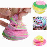 DIY Fluffy Floam Slime Scented Relief No Borax Kids Toy Fang lodo de algodón para liberar arcilla Toy