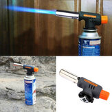 Auto Ignition Flamethrower Gas Torch Camping Lassen BBQ Butaangas Adapter
