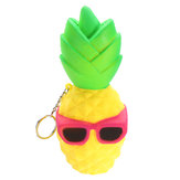 Squishy Cool Pineapple 16cm Slow Rising Soft Squeeze Collection Jouets décoratifs