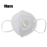 10Pcs KN95 Face Masks PM2.5 Purifier Anti-foaming Splash Proof Mask Dustproof Face Mask with Breathing Valve