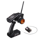 Radiolink RC4GS V2 2.4G 4CH Transmitter with R6FG Gyro Inside Receiver for RC Vehicles Car Boat Model
