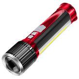 WARSUN WisdomX Oplaadbaar Tactisch Zaklamp Vissen Hoog Lumen Krachtige helderheid LED-zaklamp